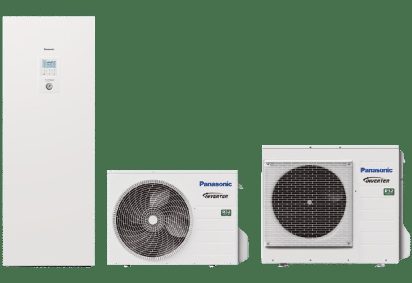 PANASONIC - Aquarea HP avec ECS intégrée