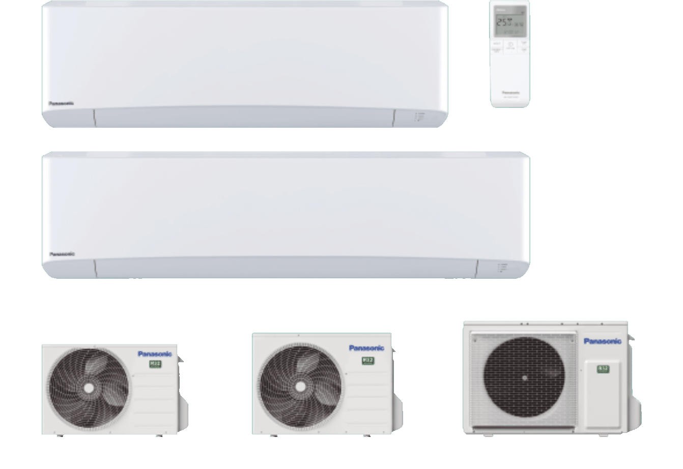 PANASONIC - Etherea Inverter+ blanc pur mat • R32
