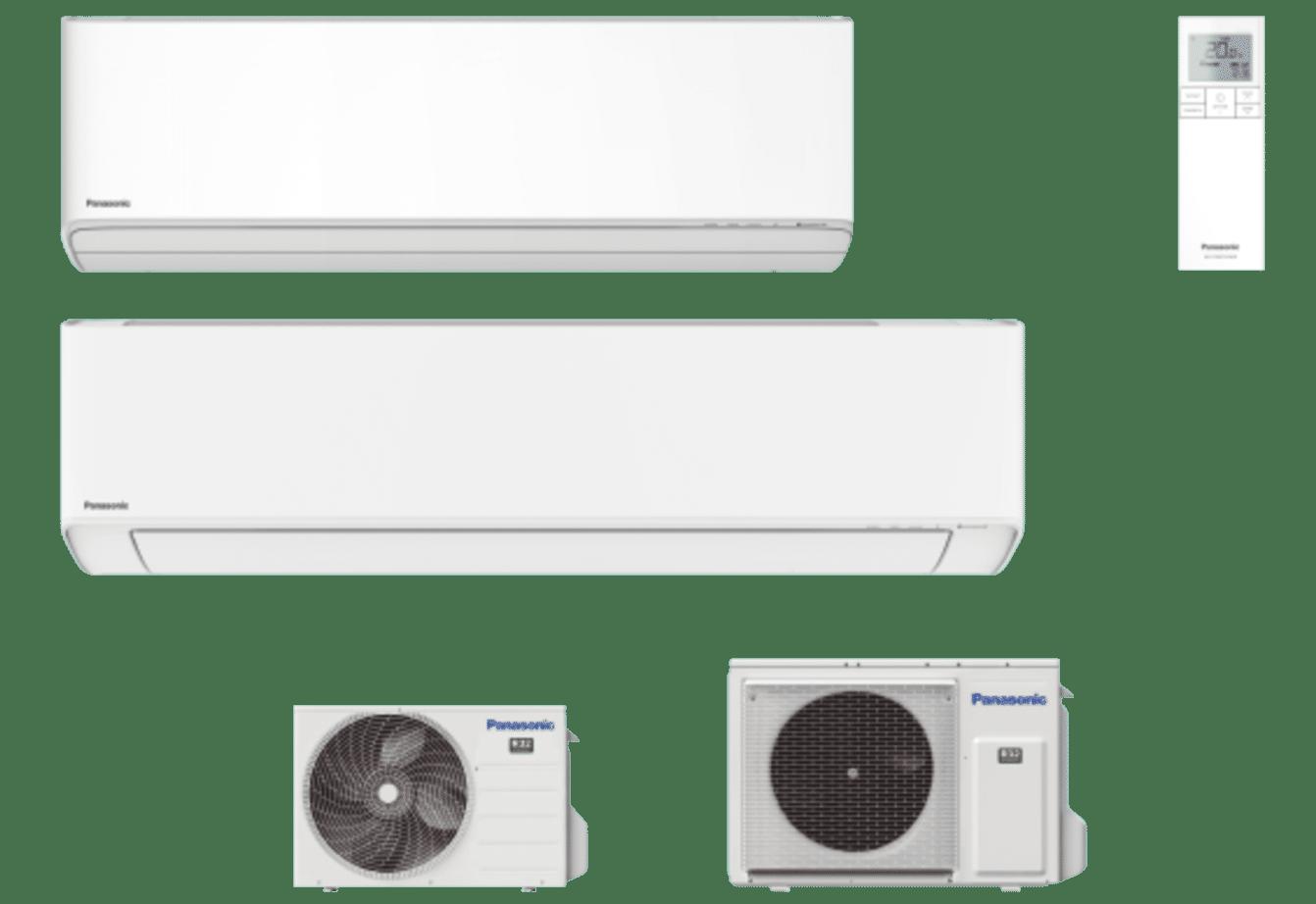 PANASONIC - Etherea avec nanoe™ X Blanc pur mat R32