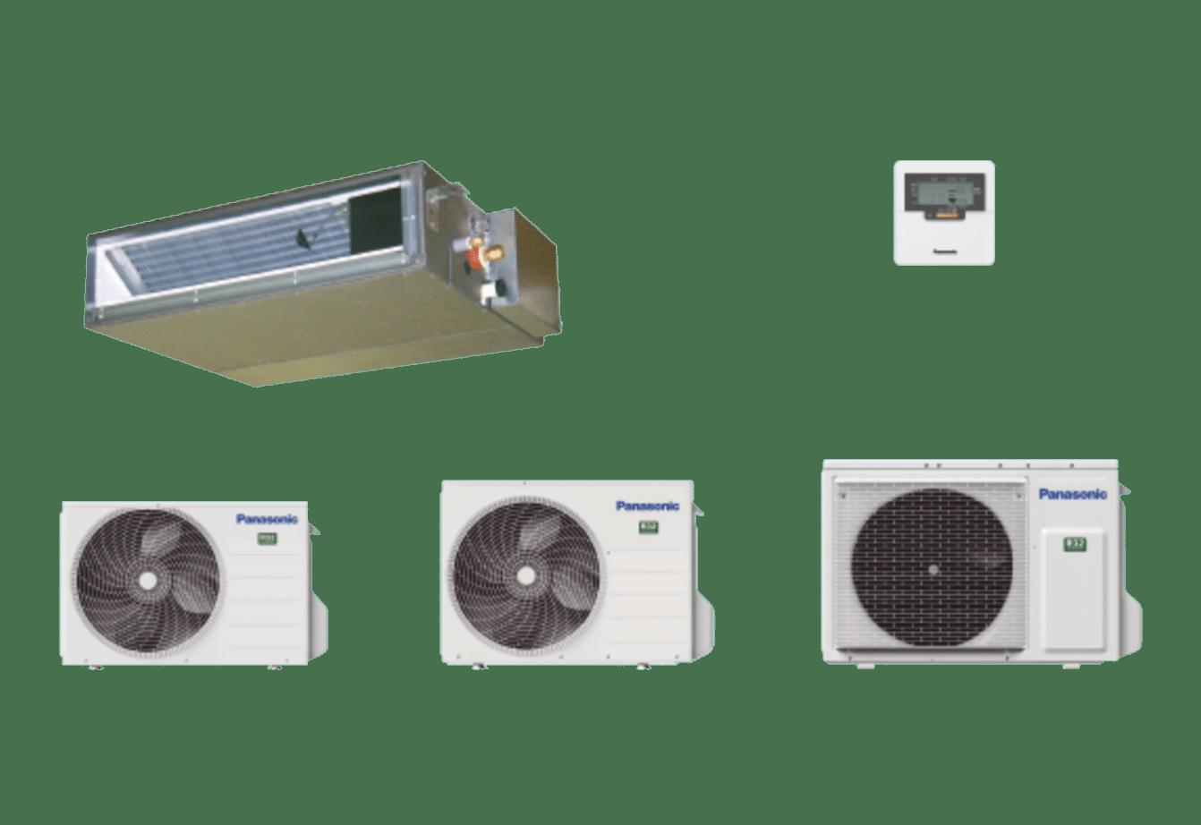 PANASONIC - Gainable Inverter basse pression •R32