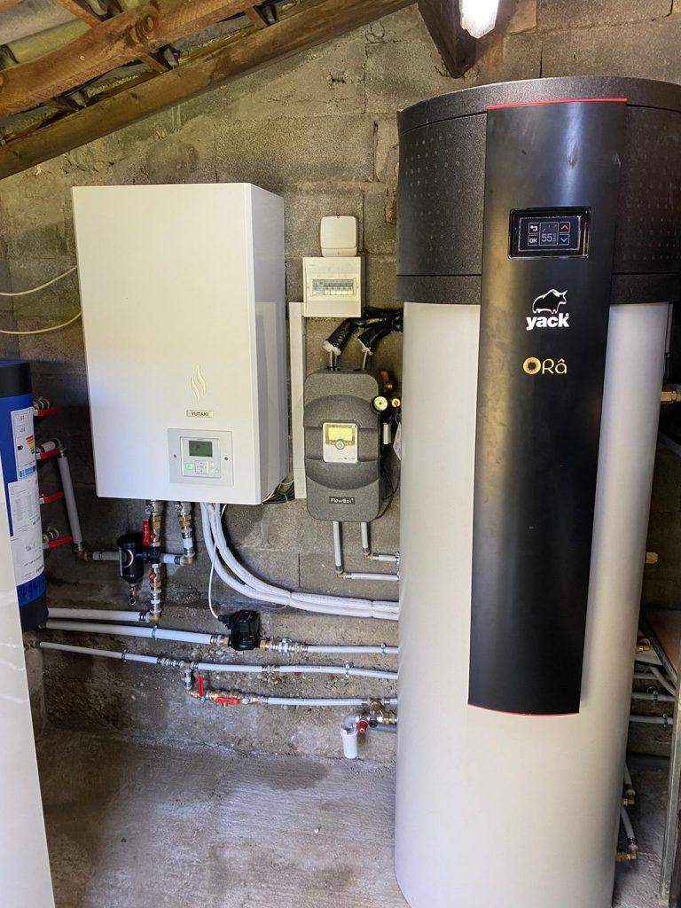 Pompe à chaleur et système hybride   Hérault