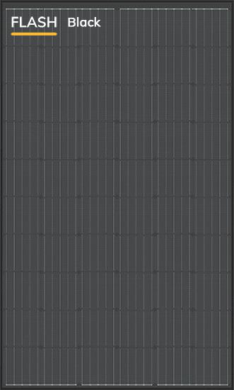 DUALSUN - Modèle Flash Black - 300 W