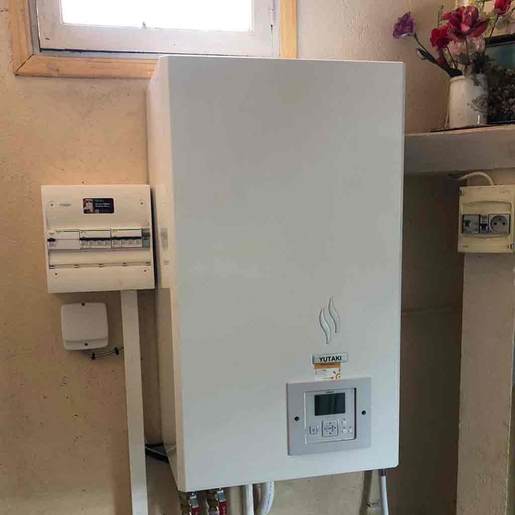Pompe à chaleur air/eau YUTAKI | Installation proche de Nîmes