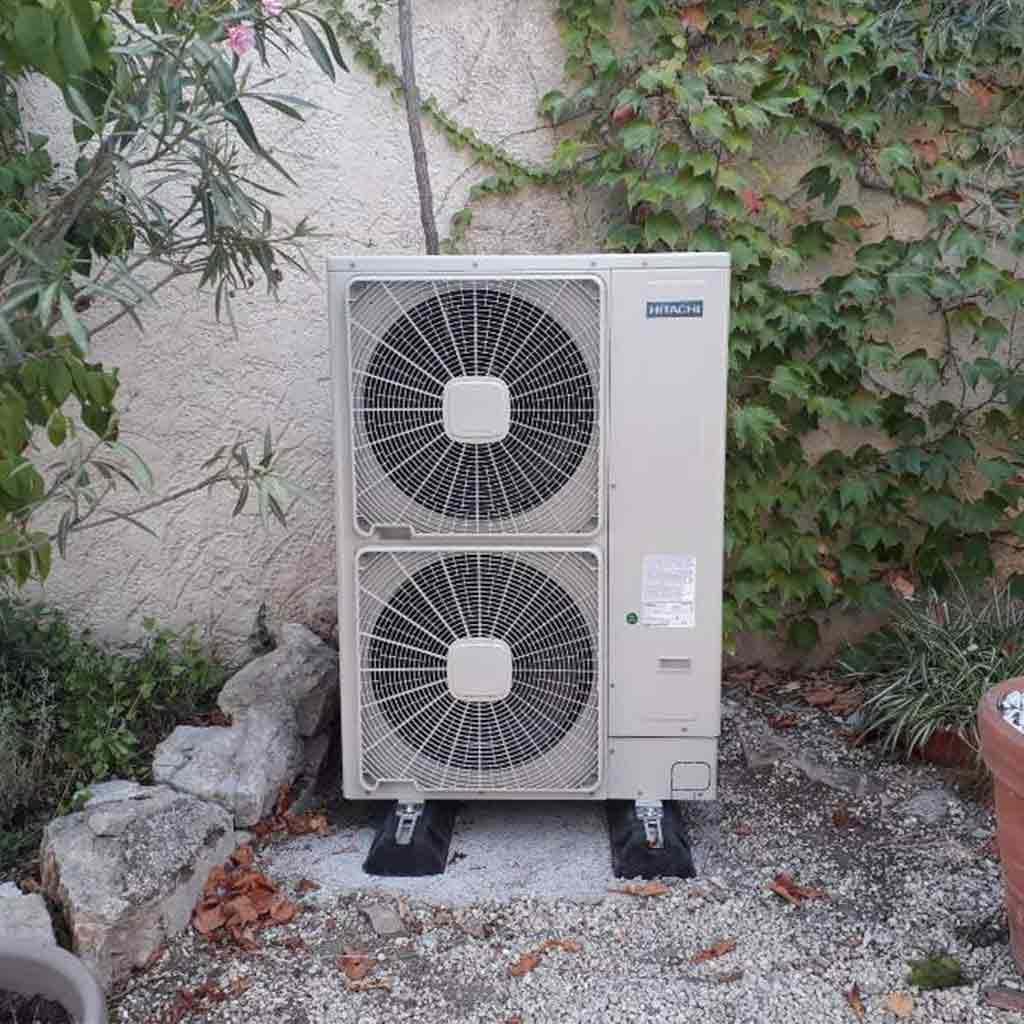 Groupe extérieur de pompe à chaleur |Aude
