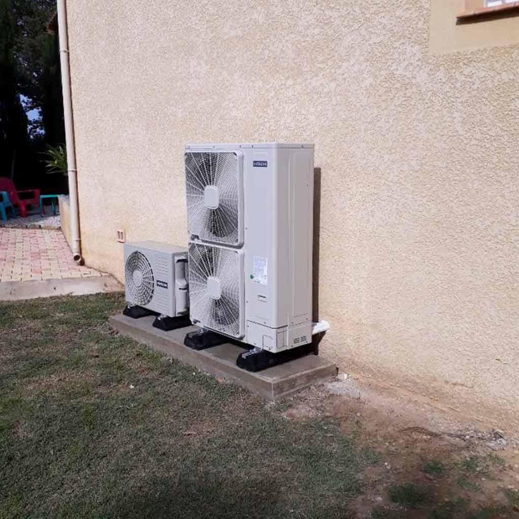 Groupe extérieur de pompe à chaleur | PACA