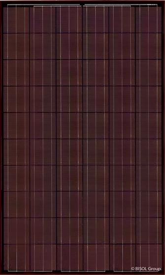 BISOL - Modèle Spectrum Rustic Red - 250 à 270 W