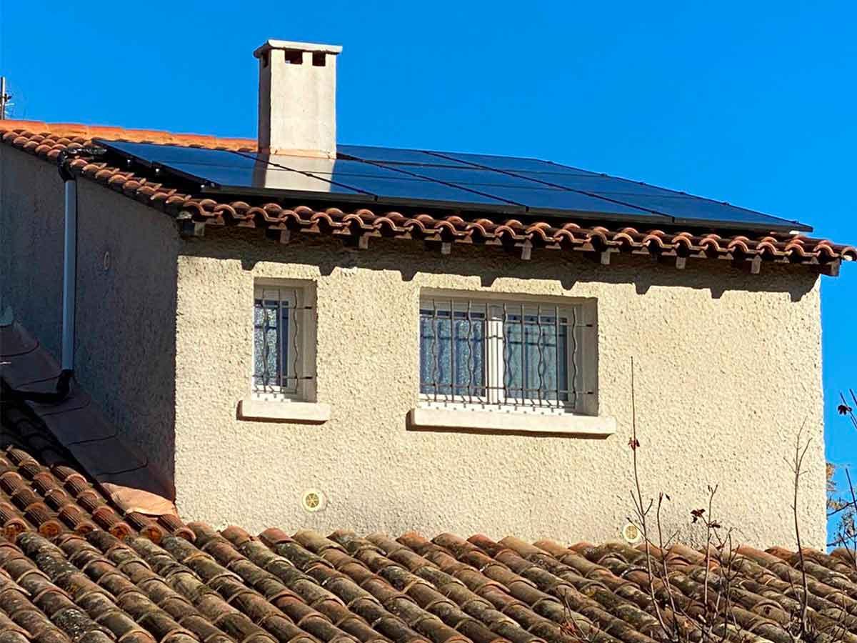 Système d'intégration K2 - Couverture sur toiture inclinée