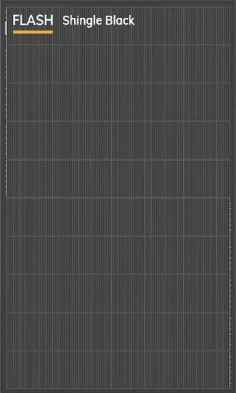 DUALSUN - Modèle Flash Shingle Black - 375 W